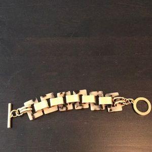 C. Wonder Gold tortoise shell bracelet
